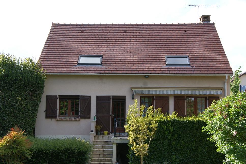 Fen tre de toit et maison passive r novation passive - Forme de toiture maison ...